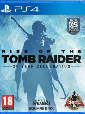 Rise of the Tomb Raider Playstation 4 cover