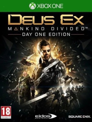 Deus Ex Mankind Divided Xbox One cover