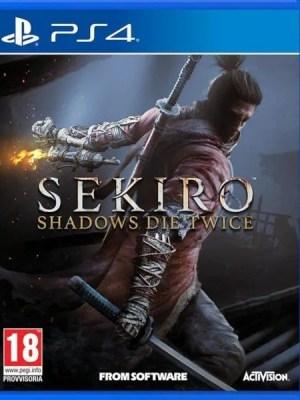 Sekiro Shadows Die Twice Playstation 4 cover