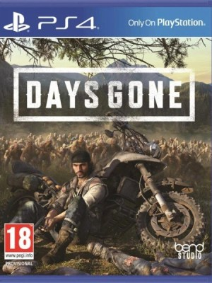 Days Gone Playstation 4 cover