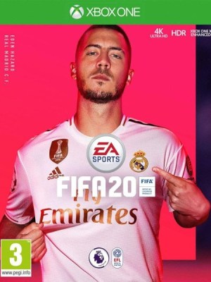 FIFA 20 Xbox One cover
