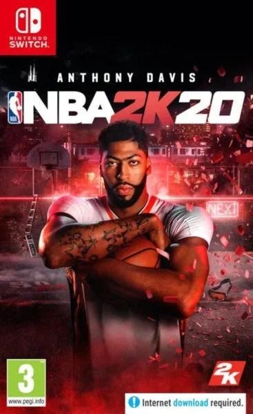 NBA 2K20 Nintendo Switch cover