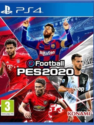 PES 2020 Playstation 4 cover