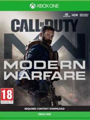 Call of Duty Modern Warfare Xbox One cover