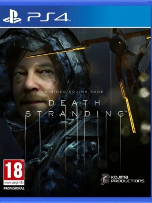 Death Stranding Playstation 4 cover