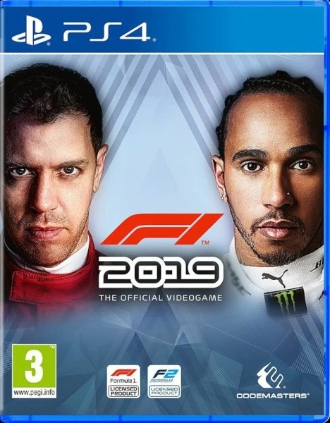F1 2019 Playstation 4 cover
