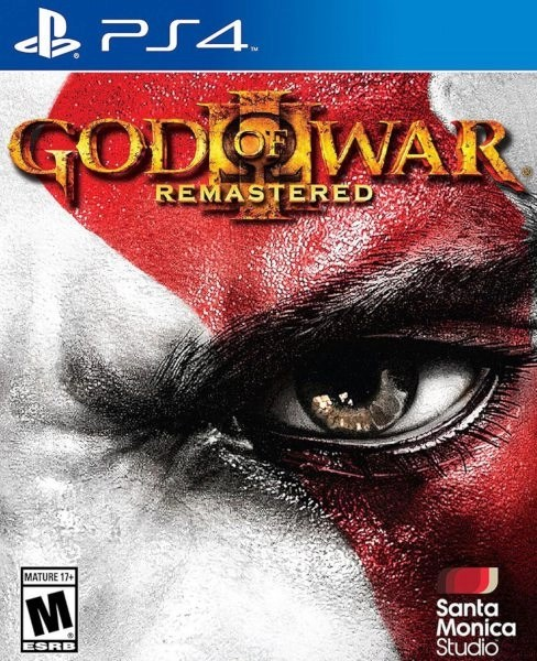 God of War 3 Playstation 4 cover
