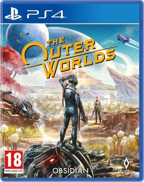 The Outer Worlds Playstation 4 cover