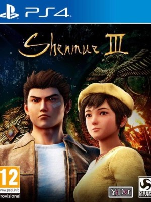 Shenmue 3 Playstation 4 cover
