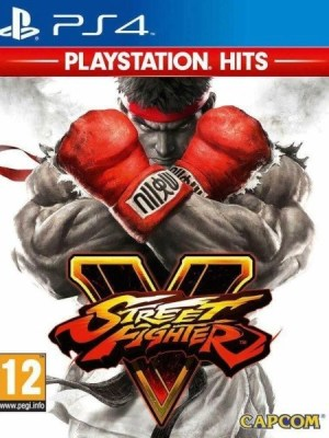 Street Fighter V Playstation 4 cover