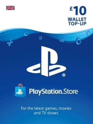 Playstation Network 10 GBP Card