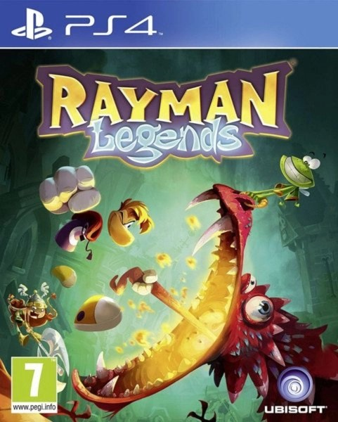 Rayman Legends Playstation 4 cover