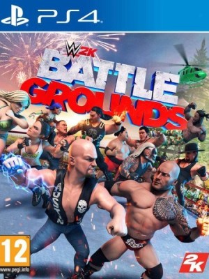 WWE 2K Battlegrounds Playstation 4 cover