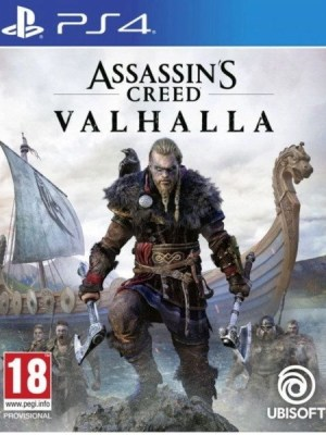 Assassins Creed Valhalla Playstation 4 cover
