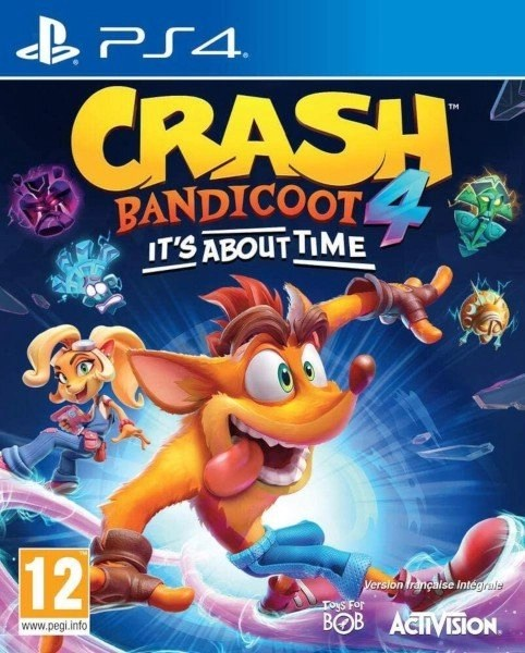 Crash Bandicoot 4 Playstation 4 cover
