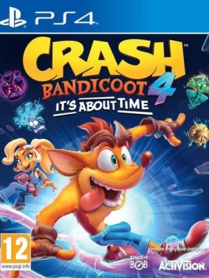 Crash Bandicoot 4 Playstation 4 cover