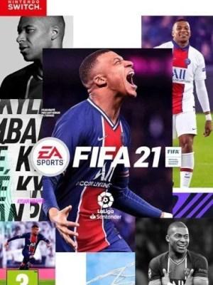 FIFA 21 Nintendo Switch cover