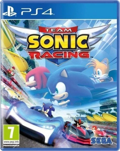 Team Sonic Racing Playstation 4 cover