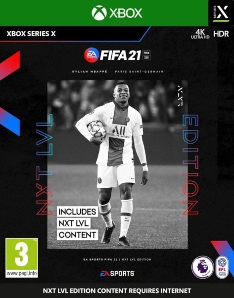 FIFA 21 Nxt Level Xbox Series X cover