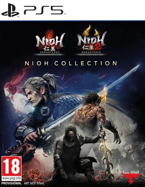 Nioh Collection Playstation 5 cover