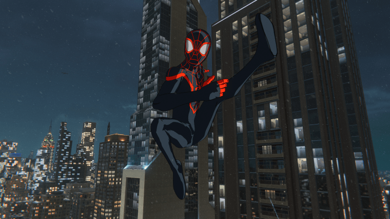 Spider-Man Miles Morales Animated Suit