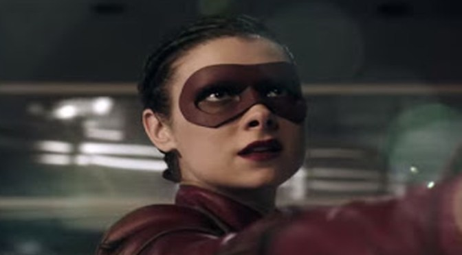 Female Speedster Zooms into the Flash