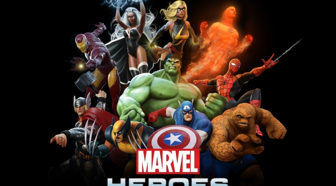 Marvel Heroes the Thing Level Up Guide