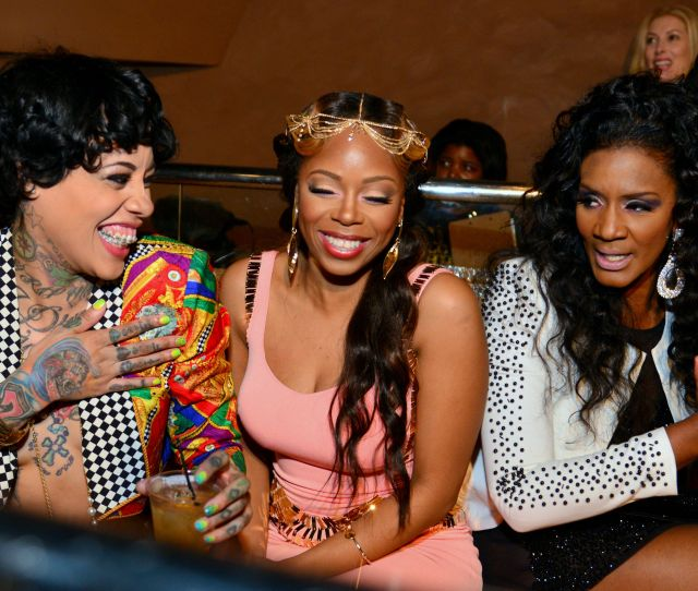 Then We Saw Her On Love Hip Hop Atlanta With Scrappy And Momma Dee