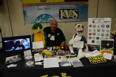 Chuck Lyons at the IVS table