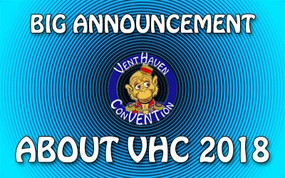 BIG ANNOUNCEMENT ABOUT VHC 2018