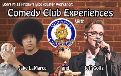Comedy Club Experiences – A New BlockBuster Workshop
