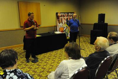 Mark Wade and Tom Crowl teach about Working the Library Market