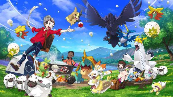 Pokémon Sword and Shield Offers a Huge Open-World Area | V Herald