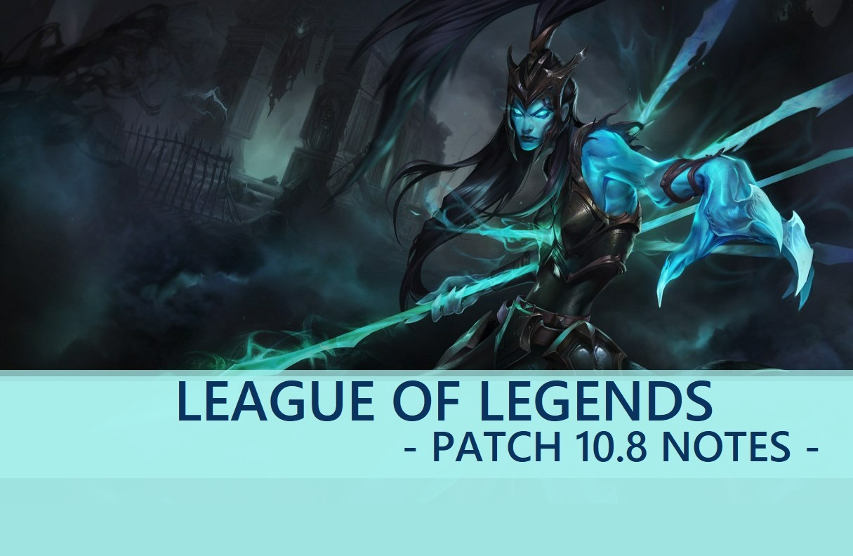 League Of Legends Official Patch 10 8 Notes Are Live These Balance Changes Roll Out On April 15 V Herald