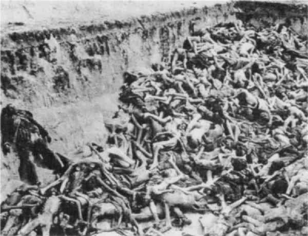 Bergen-Belsen mass grave