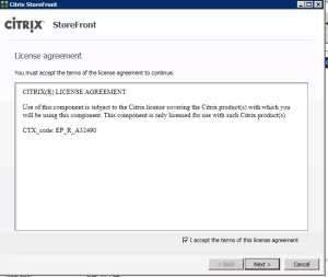 Citrix Storefront Versions