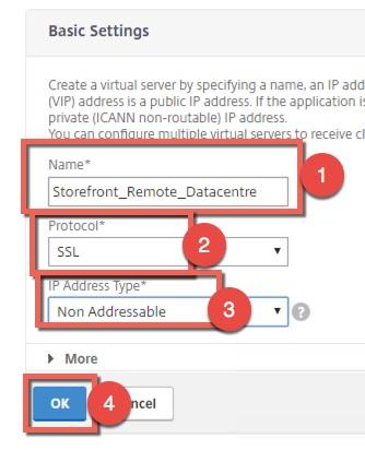 Creating Citrix NetScaler failover service groups |