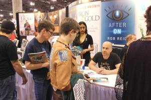 Del Rey author signing