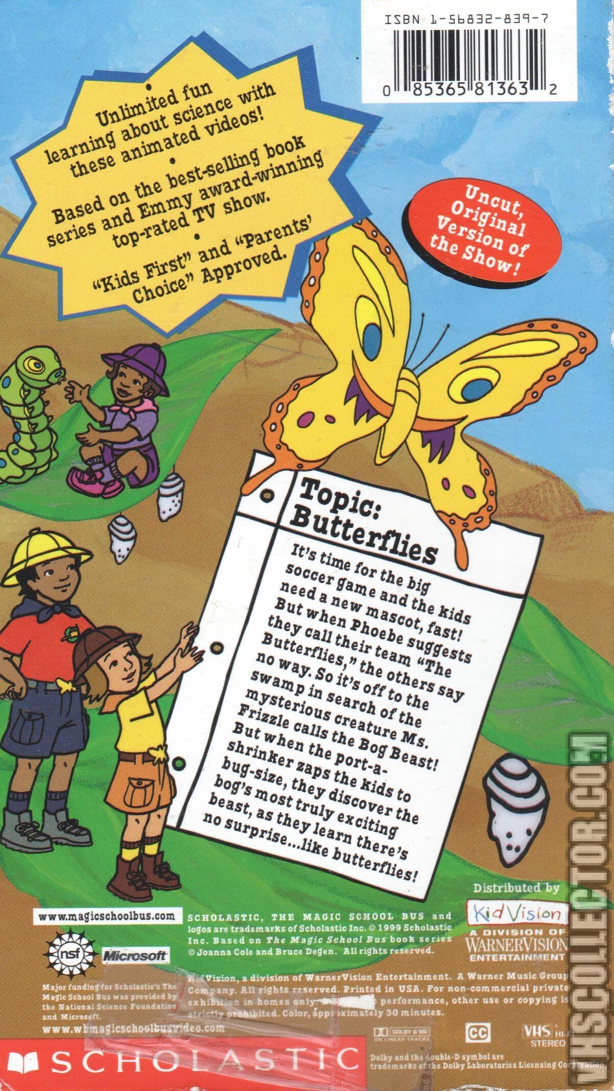 The Magic School Bus Butterflies