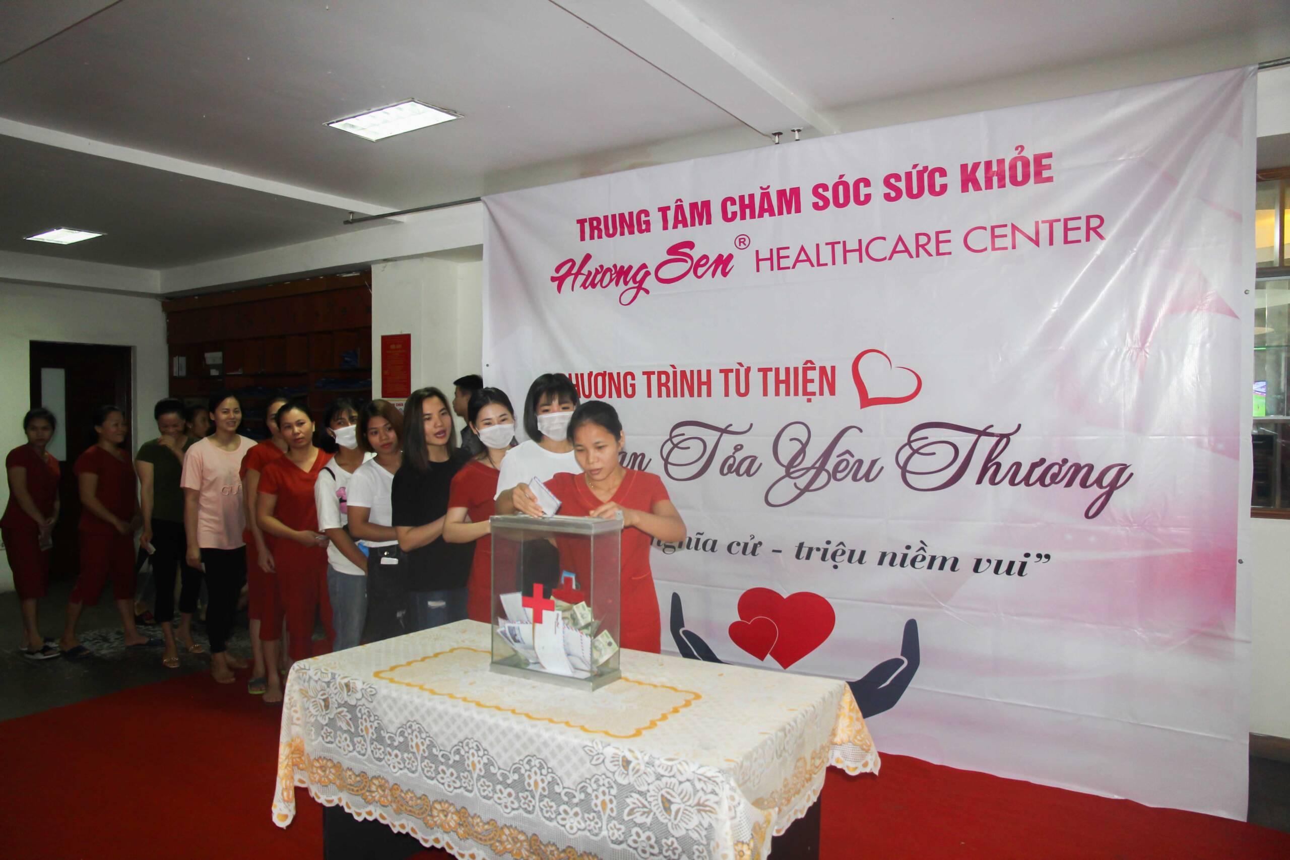 Lan Tỏa Yêu Thương – Chung tay ủng hộ CBCNV có hoàn cảnh khó khăn, hoạn nạn