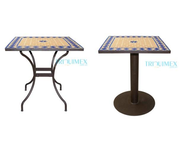 chân bàn bằng sắt mỹ nghệ cho bàn mosaic cà phê sân vườn