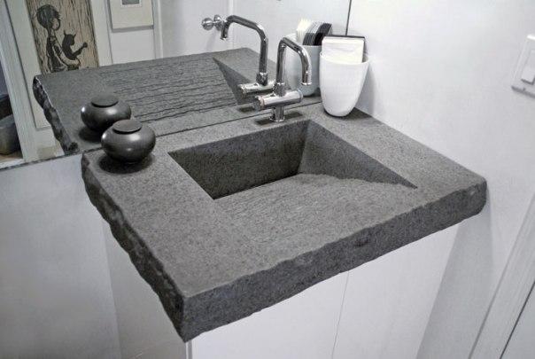 Bồn rửa mặt bê tông nhẹ