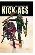 """Kick-Ass"" (Mark Millar y John Romita Jr., Panini Comics)"