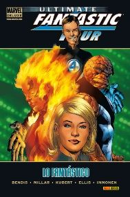"""Ultimate Fantastic Four (Marvel Deluxe)"" (Bendis, Millar, Kubert e Immonen, Panini Comics)"