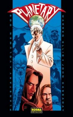 """Planetary II"" (Warren Ellis y John Cassaday, Norma Editorial)"