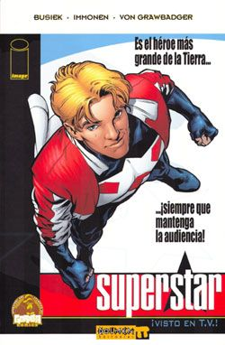 """Superstar"" (Kurt Busiek y Stuart Immonen, Dolmen Editorial)"