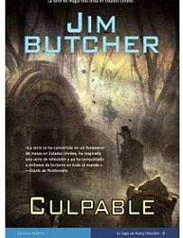 """Culpable"" (Jim Butcher, La Factoría de Ideas)"