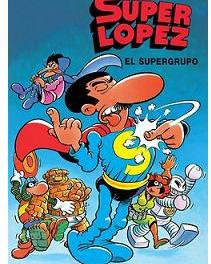 "Koomic presenta ""Superlópez. El Supergrupo"""