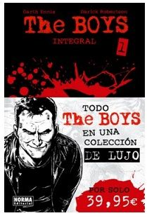 «The Boys» (Garth Ennis y Darick Robertson, Norma Editorial)