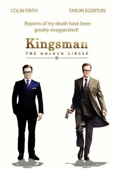 "Ya disponemos del primer trailer de ""Kingsman: The Golden Circle"",... y es espectacular"
